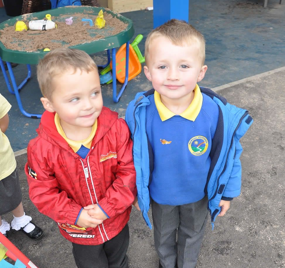 Picture of 2 of the Nursery Children